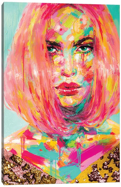 Christy Canvas Art Print
