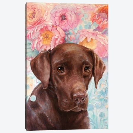 Flowers and Chocolate Canvas Print #KTO18} by Kate Tova Canvas Art