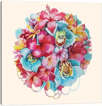 Hawaii Bouquet Canvas Art Print