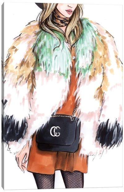 Fur  Canvas Art Print