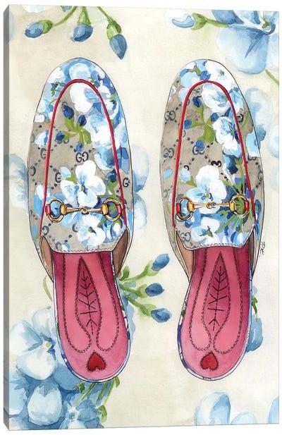 Gucci Shoes Canvas Art Print
