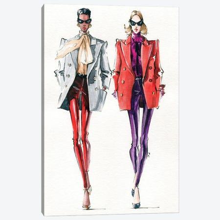 YSL Canvas Print #KTP17} by Katerina Pashegor Canvas Artwork