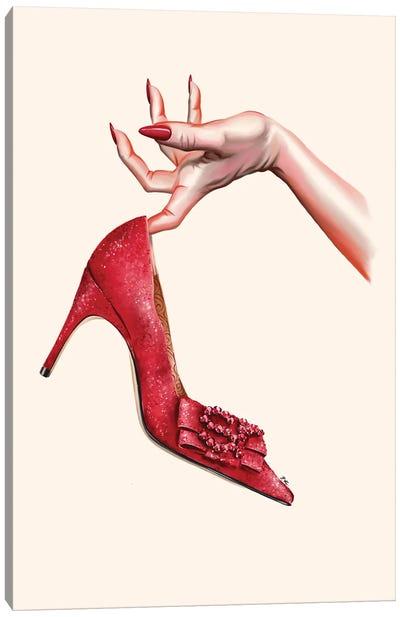 Oh My Shoe Canvas Art Print
