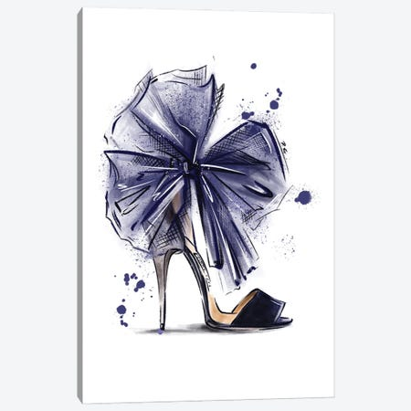 Super Bow Canvas Print #KTP36} by Katerina Pashegor Canvas Art