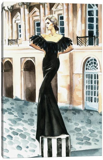 Vera Canvas Art Print