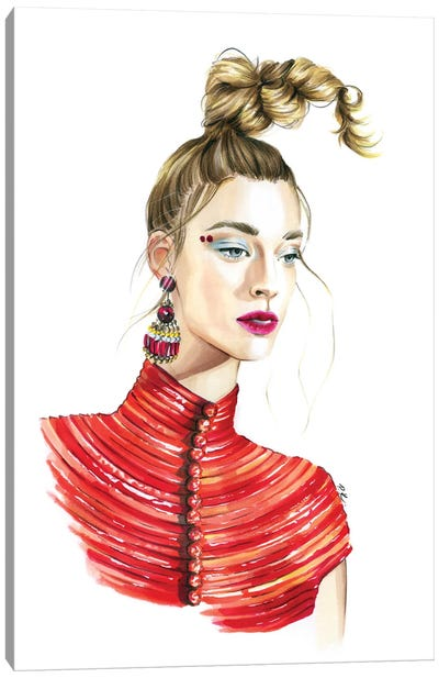 Guo Pei Canvas Art Print