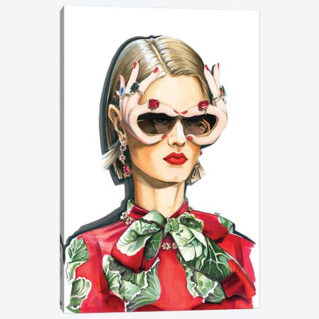 Dolce & Gabbana Canvas Print #KTP9} by Katerina Pashegor Canvas Art Print
