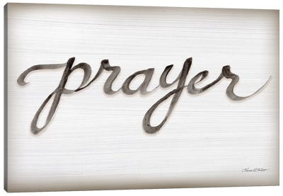 Prayer Canvas Art Print