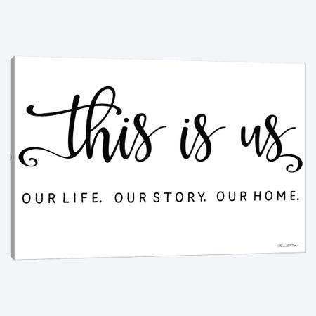 This is Us Canvas Print #KTR18} by Karen Tribett Canvas Print