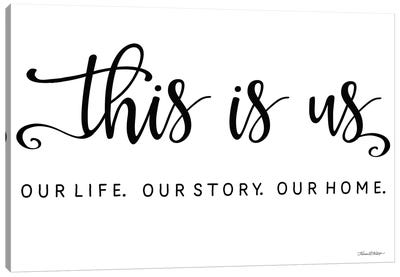 This is Us Canvas Art Print
