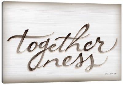 Togetherness Canvas Art Print