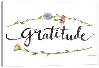 Gratitude Canvas Art Print