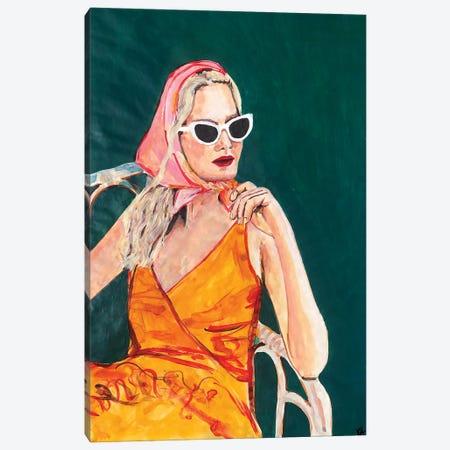 Il Dolce Far Niente Canvas Print #KTS114} by Kats Illustration Canvas Artwork