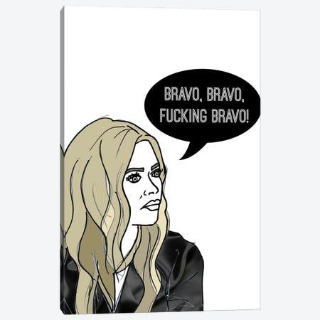 Bravo Bravo Canvas Print #KTS24} by Kats Illustration Canvas Wall Art