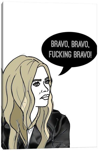 Bravo Bravo Canvas Art Print