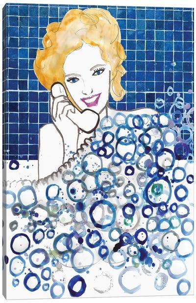Bubble Bath Canvas Art Print