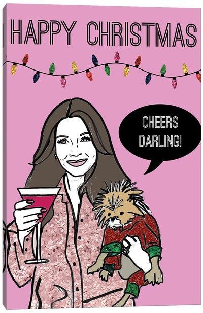 Festive Cheers Canvas Art Print
