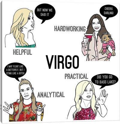 Bravostrology- Virgo Canvas Art Print