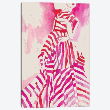 Couture Canvas Print #KTS6} by Kats Illustration Canvas Art Print