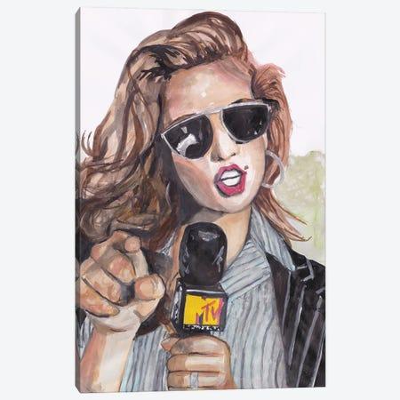 Cindy Canvas Print #KTS9} by Kats Illustration Canvas Art