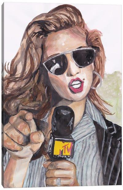 Cindy Canvas Art Print