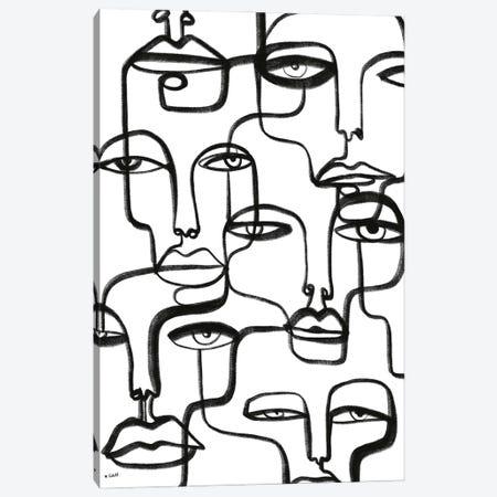 Connected Canvas Print #KTT13} by Koketit Canvas Print