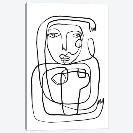 Motherina Canvas Print #KTT69} by Koketit Canvas Art