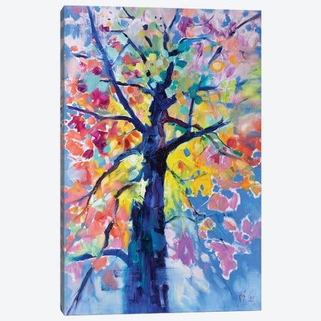 Tree Canvas Print #KTV114} by Katharina Valeeva Canvas Artwork