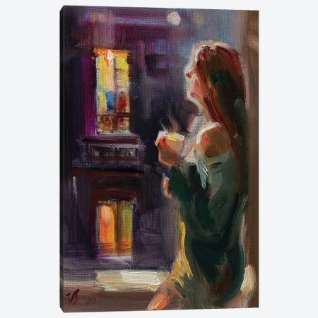 Warm Evening Canvas Print #KTV118} by Katharina Valeeva Art Print