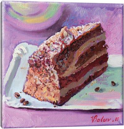 Chocolate Cake Canvas Art Print