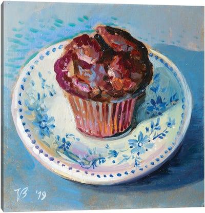 Chocolate Muffin Canvas Art Print