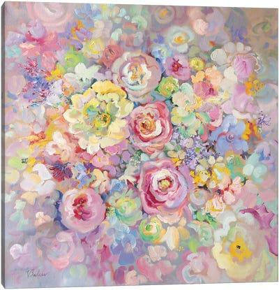 Delicate Flowers Canvas Art Print