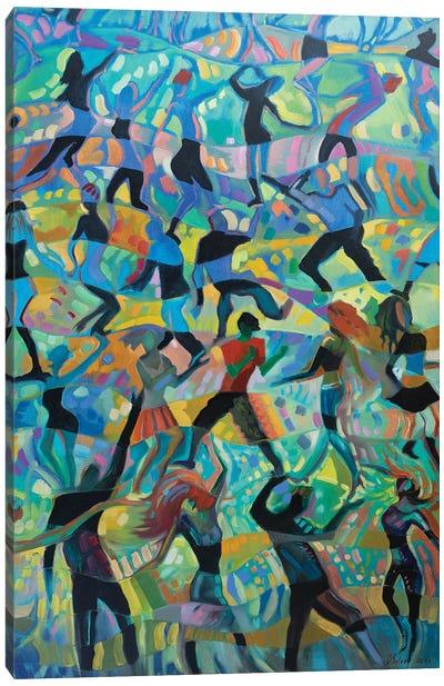 Disko Canvas Art Print