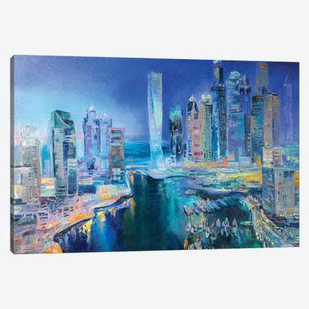 Dubai Canvas Print #KTV29} by Katharina Valeeva Canvas Art