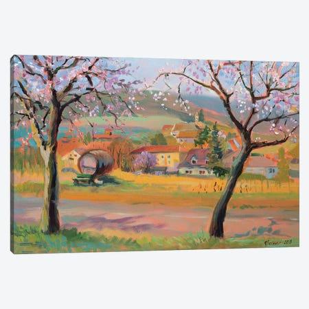 April In Edenkoben Canvas Print #KTV2} by Katharina Valeeva Art Print
