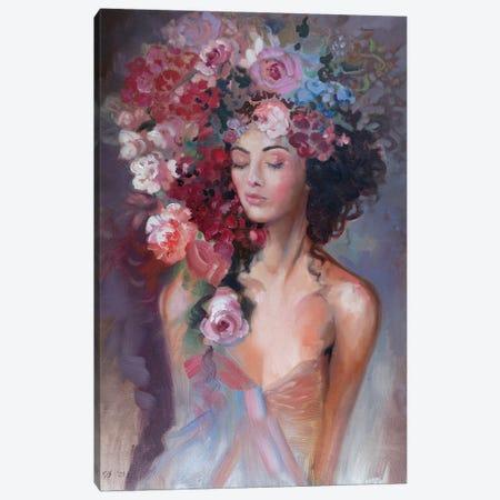 Flower Nymph Canvas Print #KTV35} by Katharina Valeeva Canvas Art