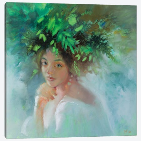 Forest Nymph Canvas Print #KTV37} by Katharina Valeeva Canvas Art