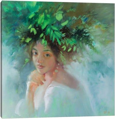 Forest Nymph Canvas Art Print