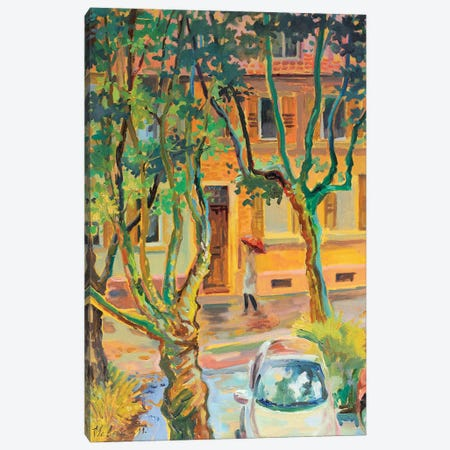 From My Window Canvas Print #KTV38} by Katharina Valeeva Art Print