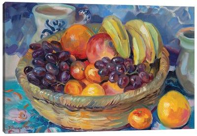 Fruit Basket Canvas Art Print