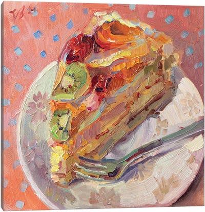 Fruit Pie Slice Canvas Art Print