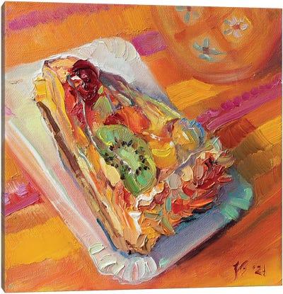 Fruitcake Canvas Art Print