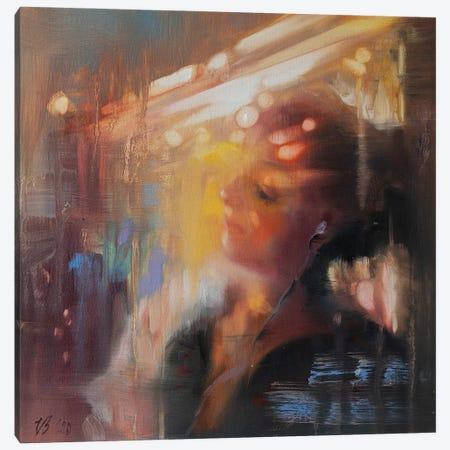Girl In The Subway Canvas Print #KTV46} by Katharina Valeeva Canvas Print