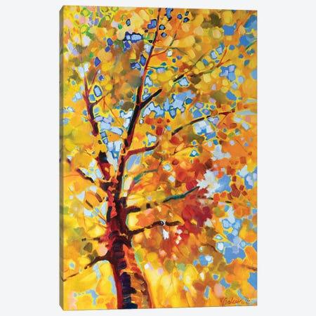 Golden Autumn Canvas Print #KTV50} by Katharina Valeeva Canvas Print