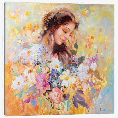 Meadow Nymph Canvas Print #KTV59} by Katharina Valeeva Art Print