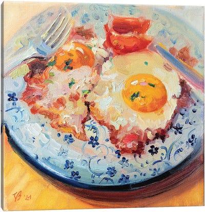 Bacon And Eggs Canvas Art Print