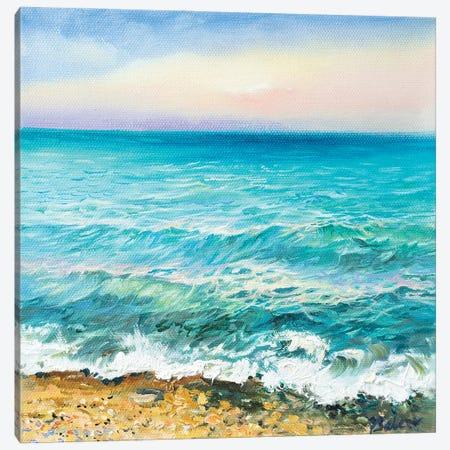Sea Canvas Print #KTV88} by Katharina Valeeva Canvas Artwork