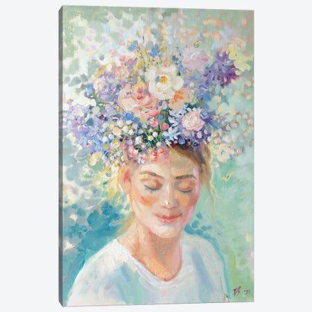 Spring Flowers Canvas Print #KTV92} by Katharina Valeeva Canvas Art Print
