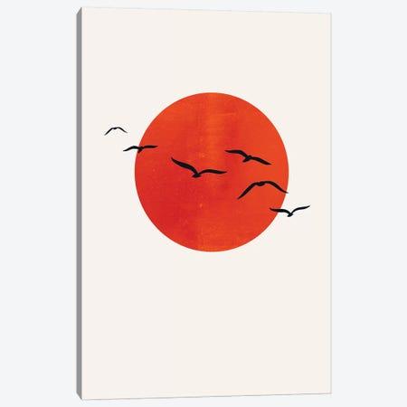 A Sunny Day Canvas Print #KUB100} by Kubistika Canvas Wall Art