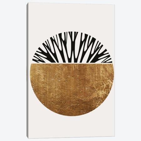 Abstractika - Gold Canvas Print #KUB107} by Kubistika Art Print